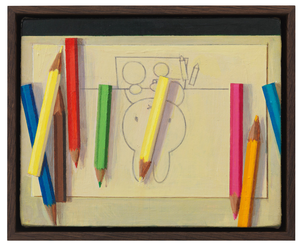 Colour pencil with Miffy drawing