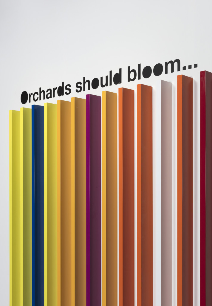Orchards should bloom