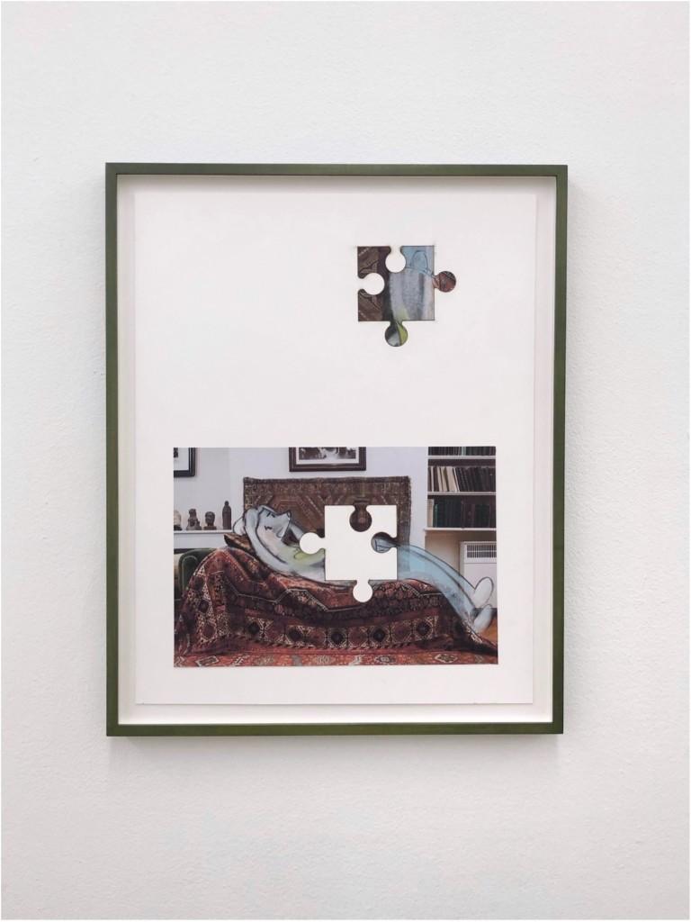 Simon Fujiwara, Who is Puzzled? (Therapy), 2021
