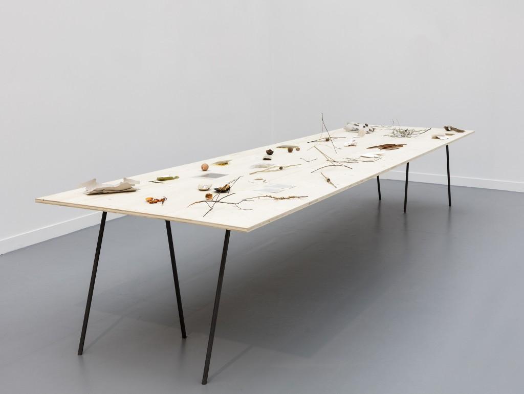 Daniel Steegmann Mangrané, Table With Objects, 1998-2015