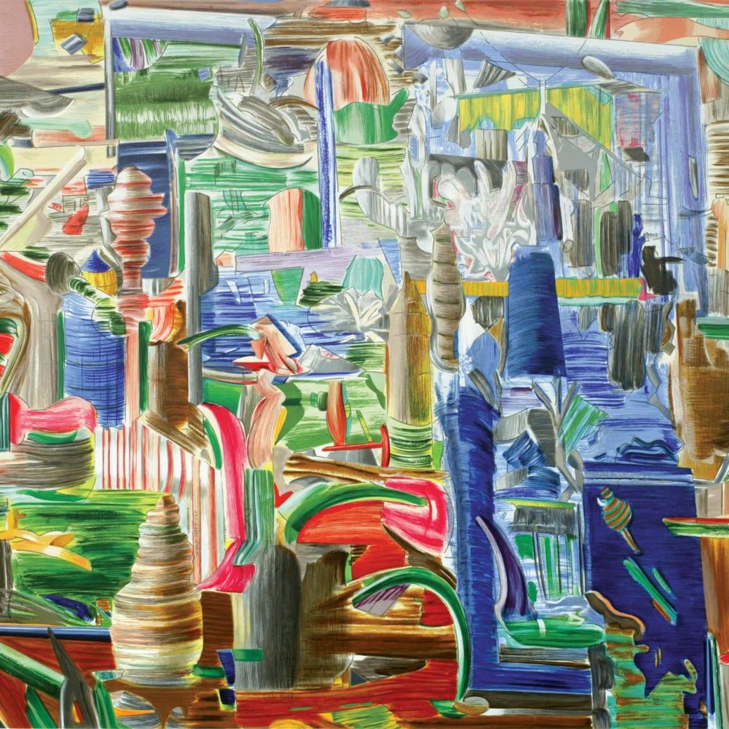 Larry Dinkin, Spinning Glass, 2005