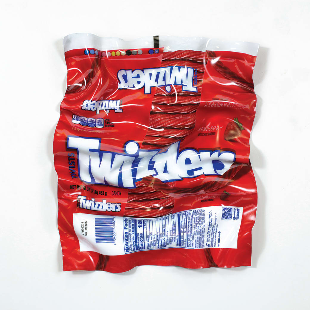 Paul Rousso, Twizzlers Wrapper, 2020