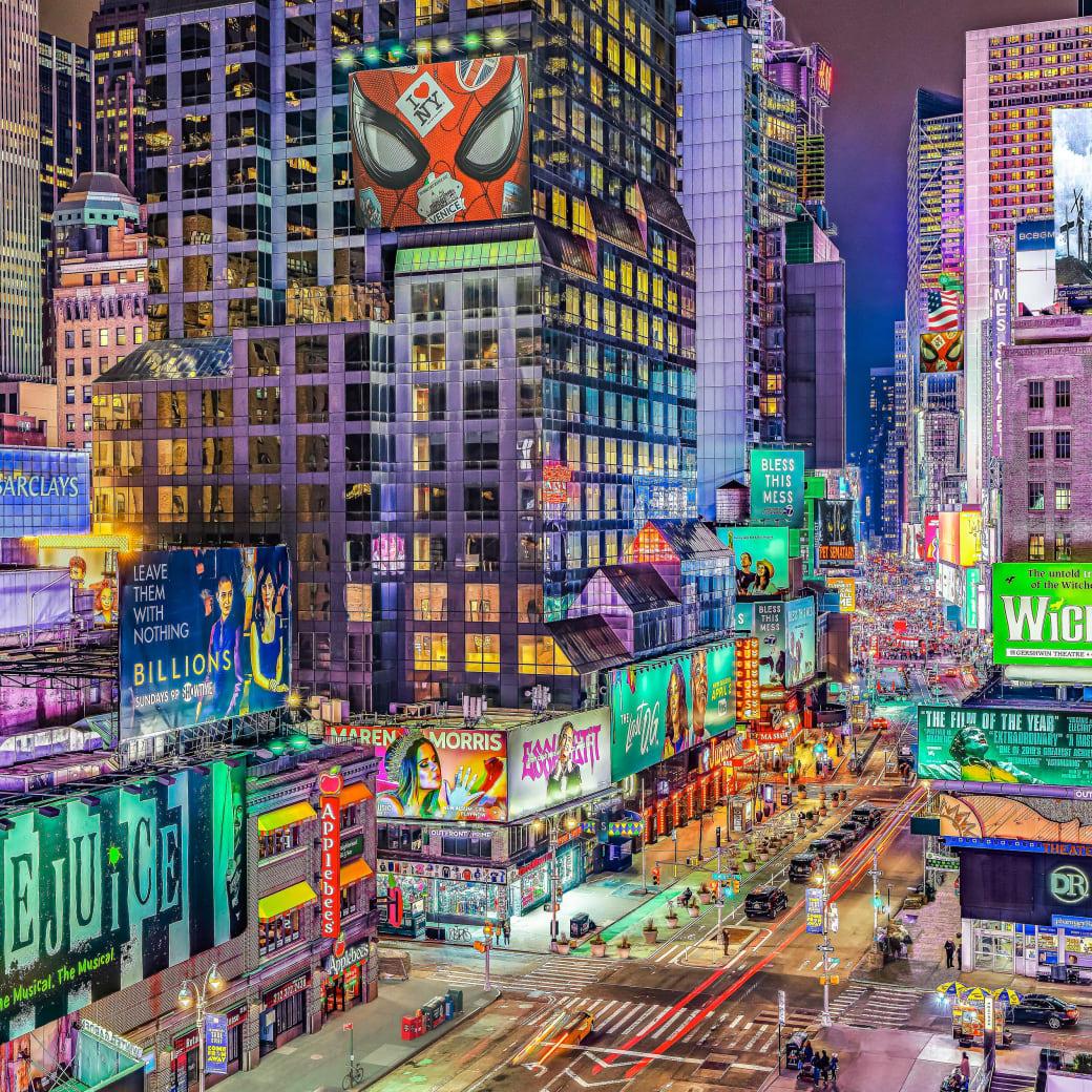 Donald R. Harivel, Times Square, 2019