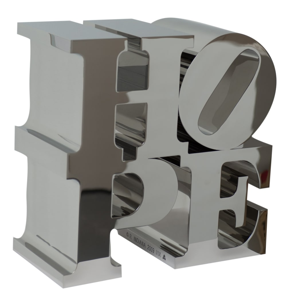 Robert Indiana, HOPE, 2009