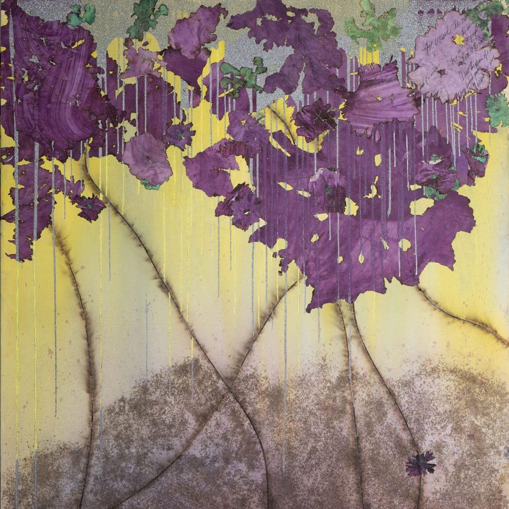 Detail of Magenta Rain