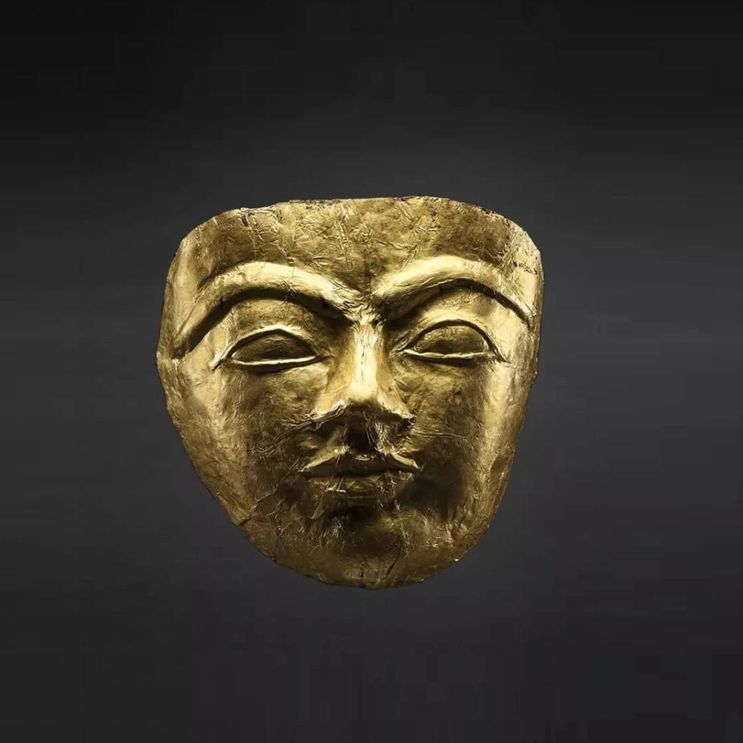 Funerary Gold Mask