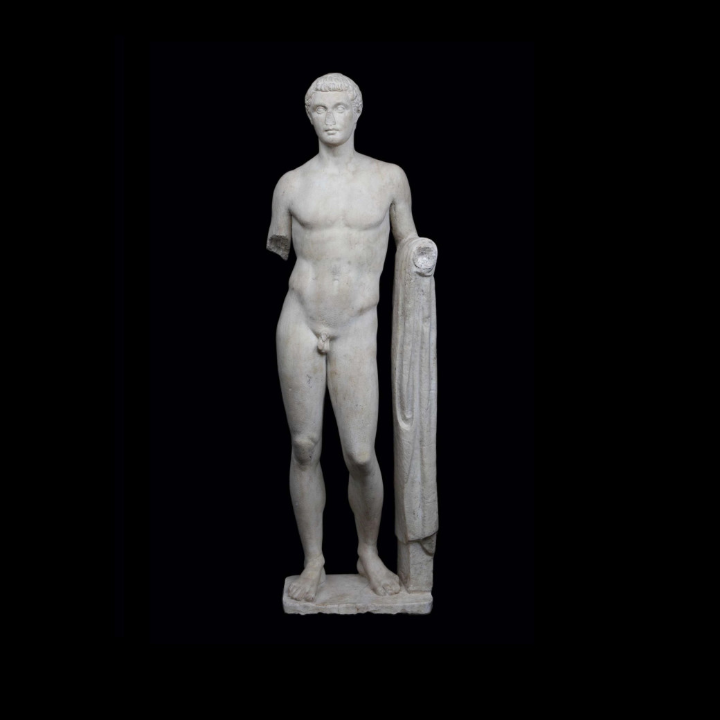 Figure of a youth, possibly Hermes