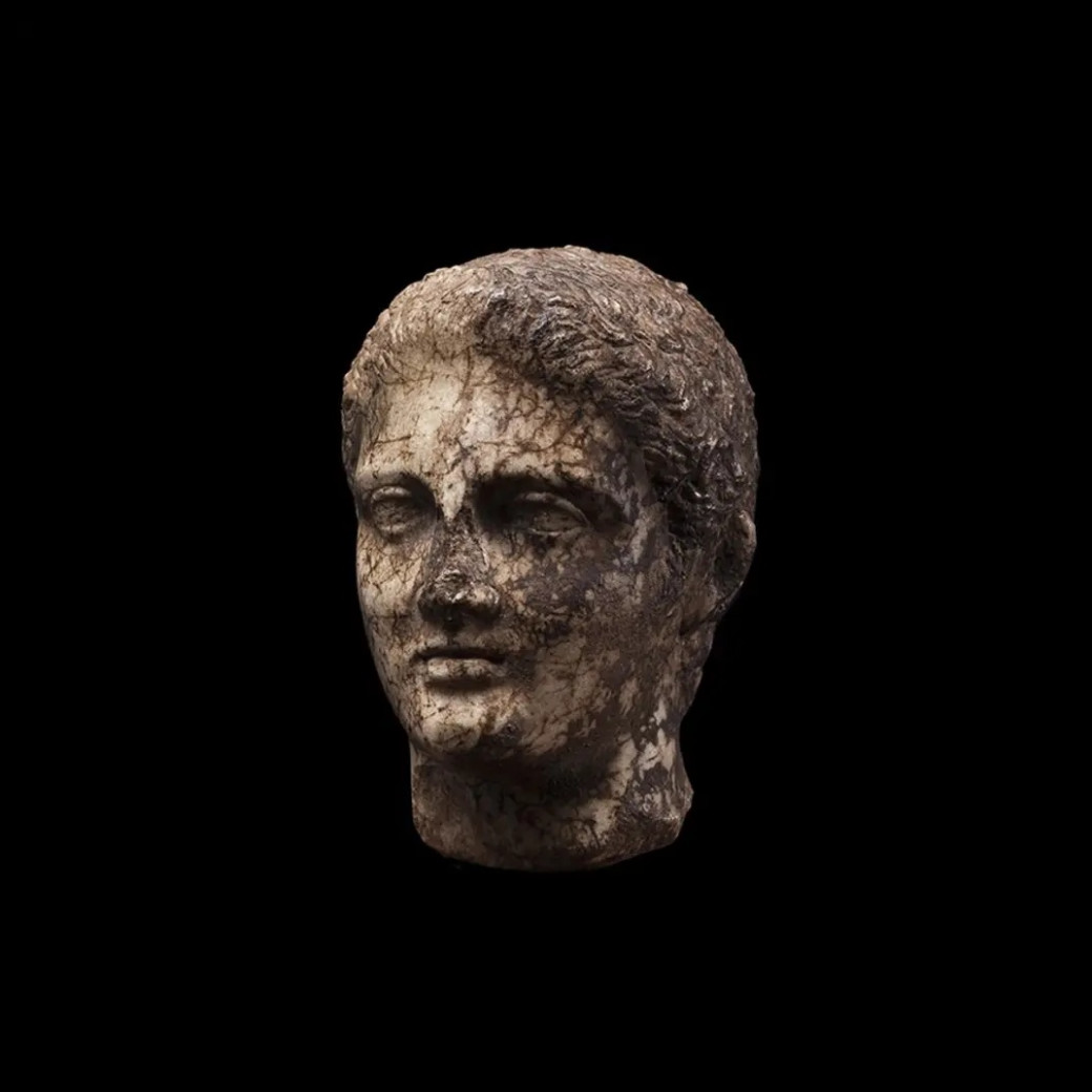 Greek Head of a Young Male