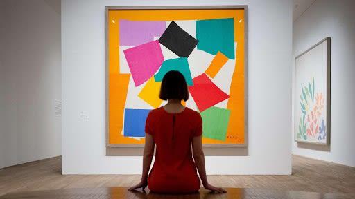 Matisse, 'The Snail', 1953. Tate Modern