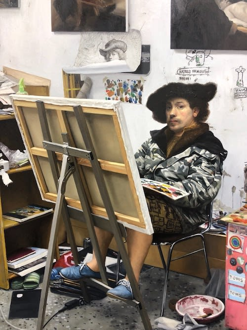"How to Afford And, Kwon Neung, ""Rembrandt"" painting"