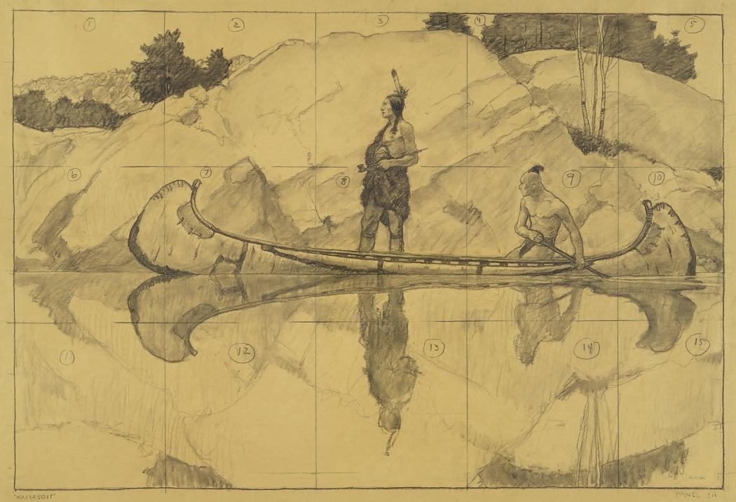 N.C. Wyeth, Massasoit, c. 1945