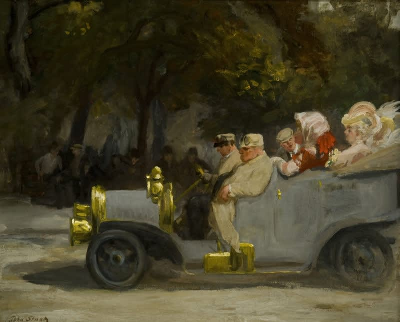 John Sloan, Gray and Brass, 1907
