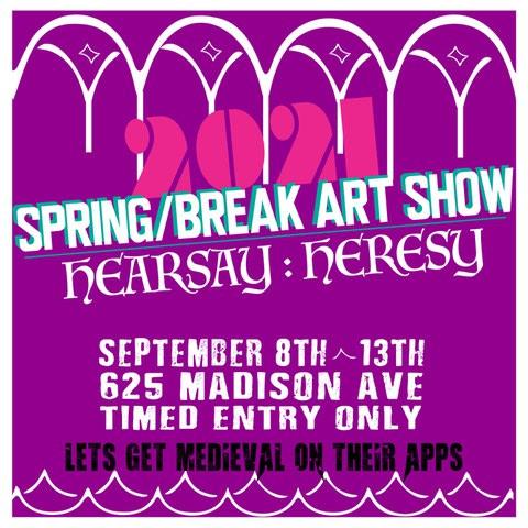 Reflections on Spring/Break Art Show 2021