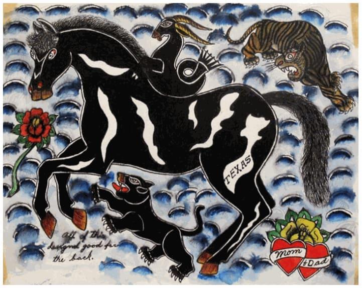 Rosie Camanga, Untitled, 1950-1960