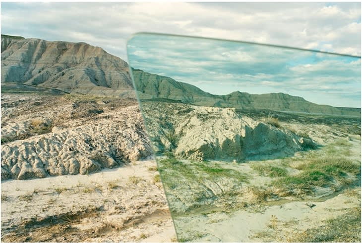 Badlands, 2012, type-c print , 30 x 40 in., 76.2 x 101.6 cm