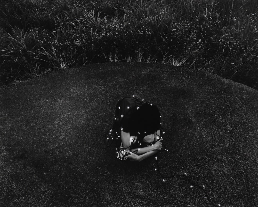 Hitoshi Fugo, On the Circle #21, from the series On the Circle, 2010, Gelatin Silver Print
