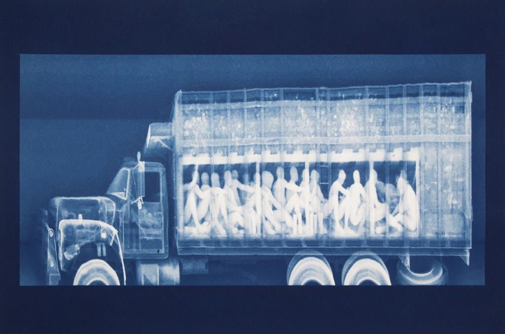 © Noelle Mason, Backscatter Blueprint (Vientre de la bestia)
