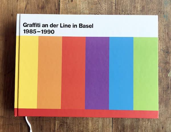 BUCHVERNISSAGE – Graffiti an der Line Basel 1985–1990