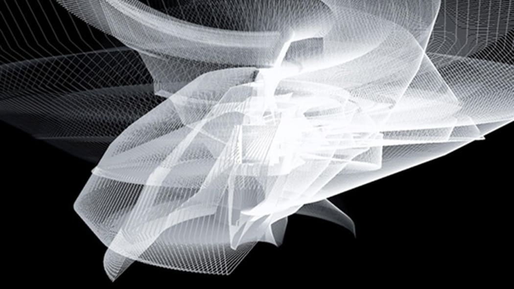 Image Caption: Visualization of a hand in motion during a conversation  Image Credit: © jeanbaptisteparis   Flickr