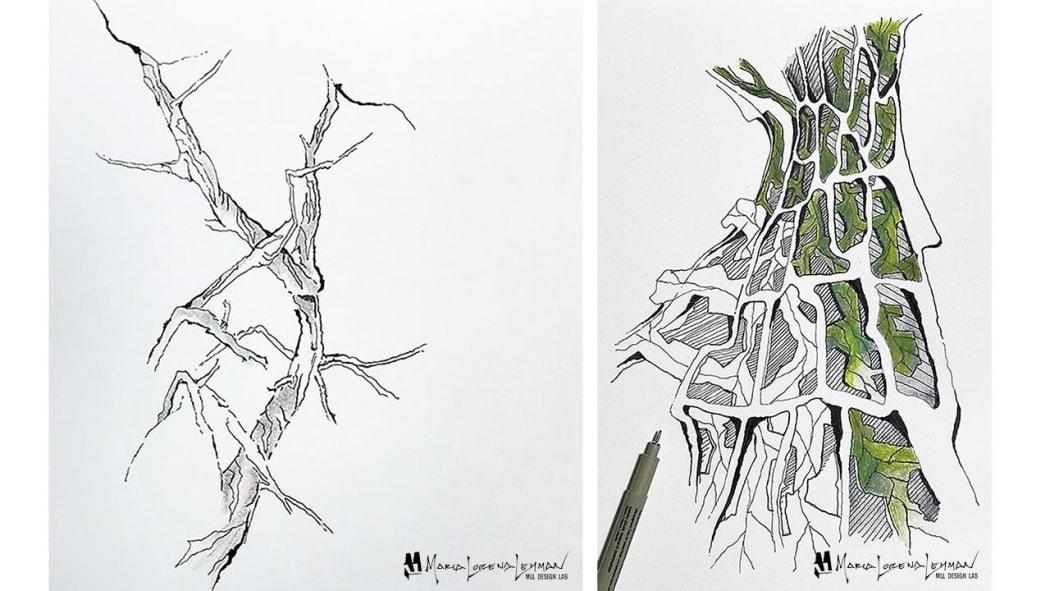 Sketch prototype by Maria Lorena Lehman
