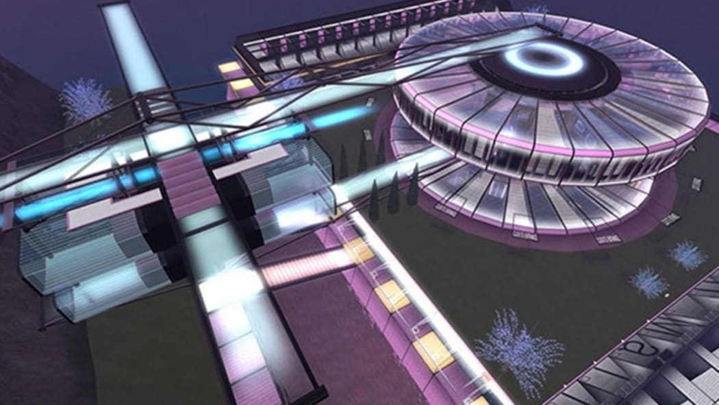 Image Caption: A Second Life shopping mall design that reflects trends instantly, showing what people buy, current fashions, quality levels and so on. Image Credit: © Torley | Flickr