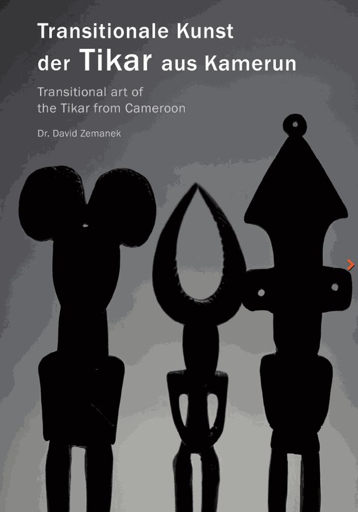 "New book: ""Transitional art of the Tikar from Cameroon"" (David Zemanek, 2021)"