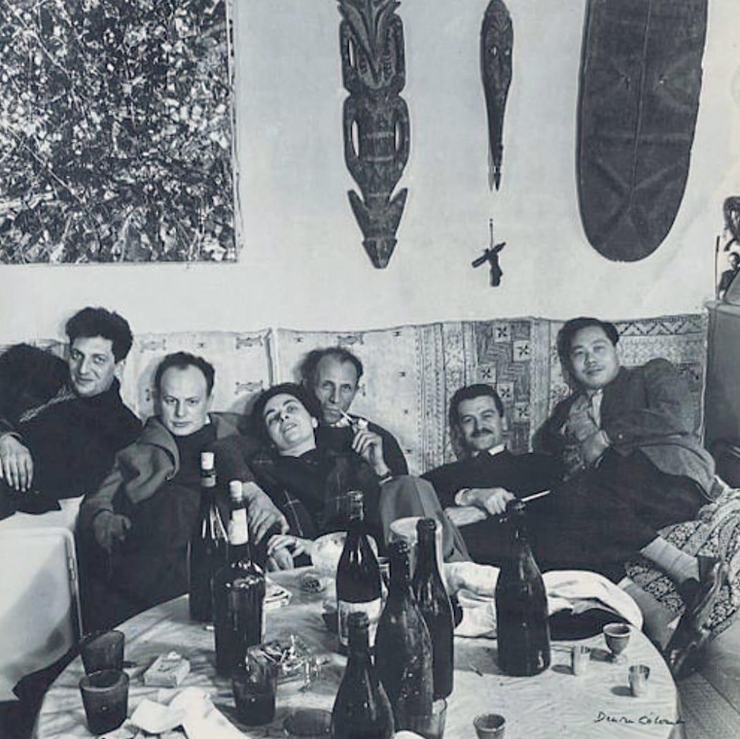 At Galerie Pierre Loeb, anno 1953