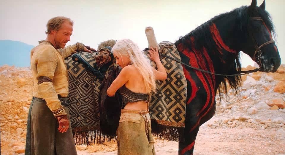 African art in Game of Thrones