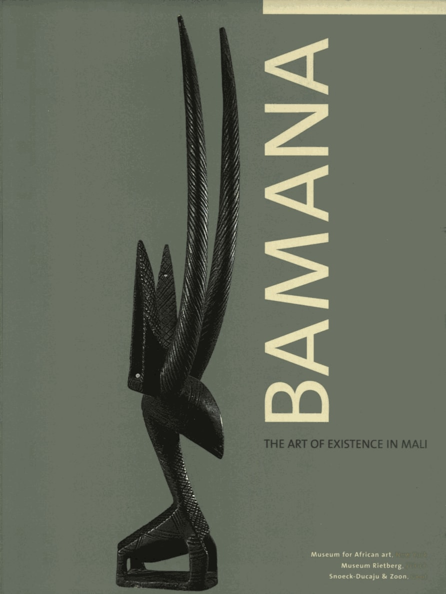 """Read """"Bamana. The art of existence in Mali"""" freely online"""