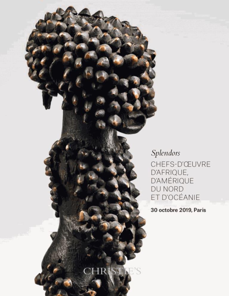 Catalog online: Christie's, SPLENDORS, Paris, 30 October 2019