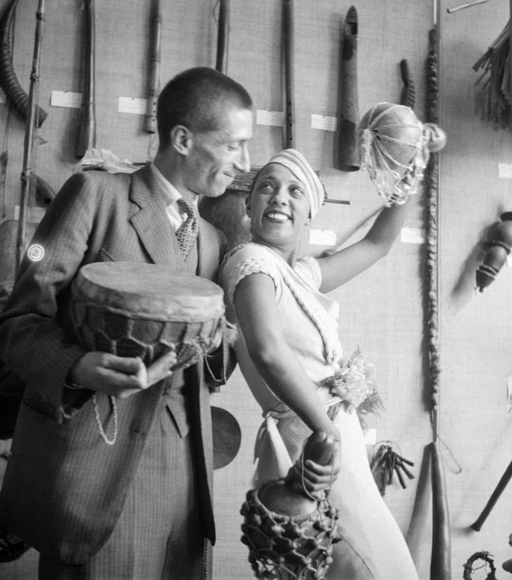 Photo of the day: Josephine Baker at the Trocadéro Museum (1933)
