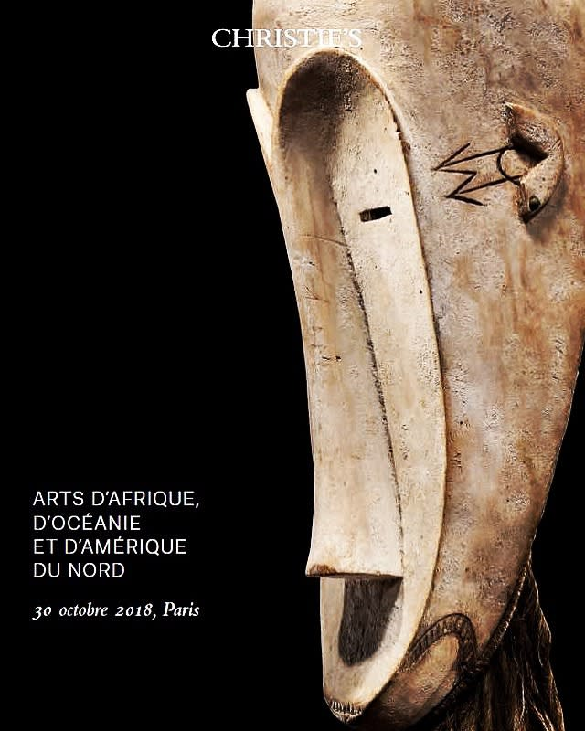 Catalogs October 30th Christie's African and Oceanic art sales online