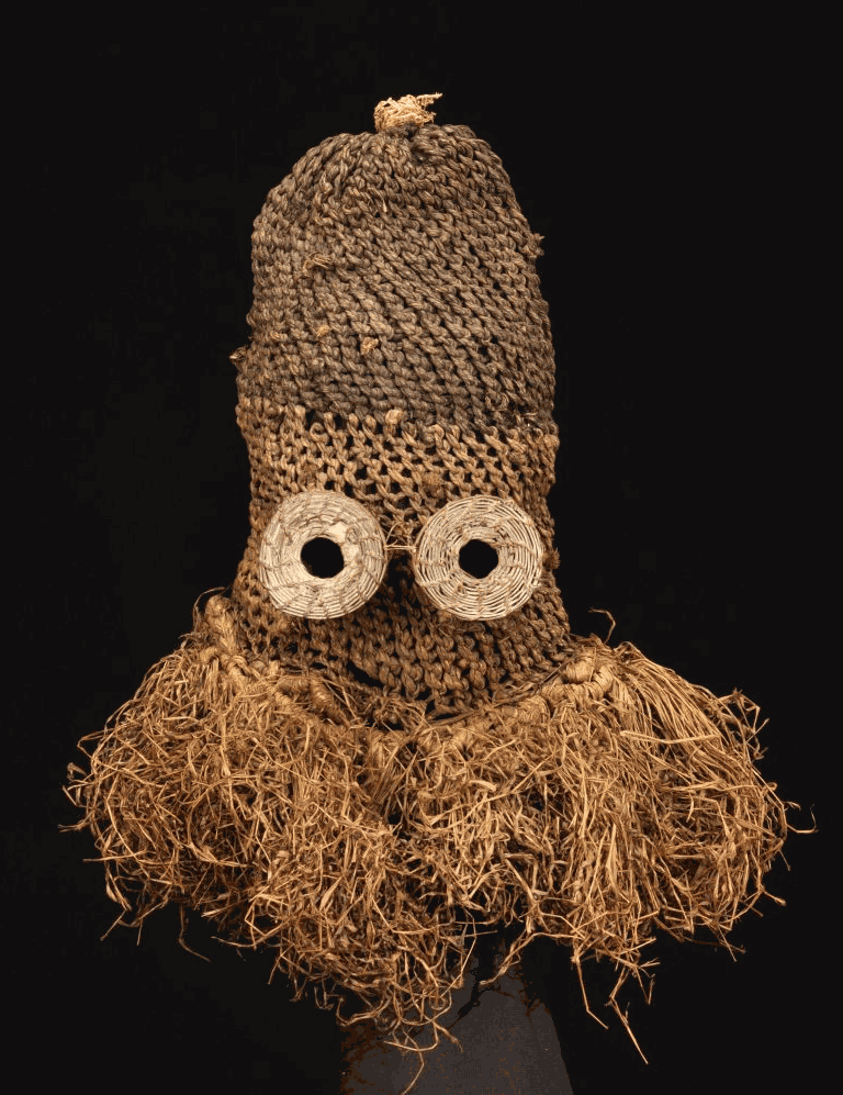 Pende mask collected by Emil Torday, 1907-1909. Image courtesy of the Budapest Museum of Ethnography (#NM 80674).
