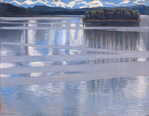 Akseli Gallen-Kallela, Lake Keitele, 1905, National Gallery, London
