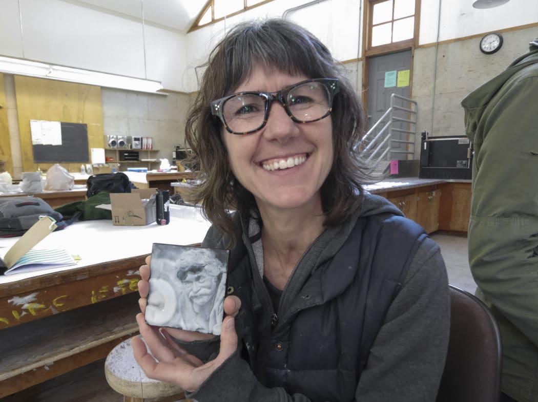 Heidi Schwegler attends Digital Clayground workshop at Pilchuck Glass School