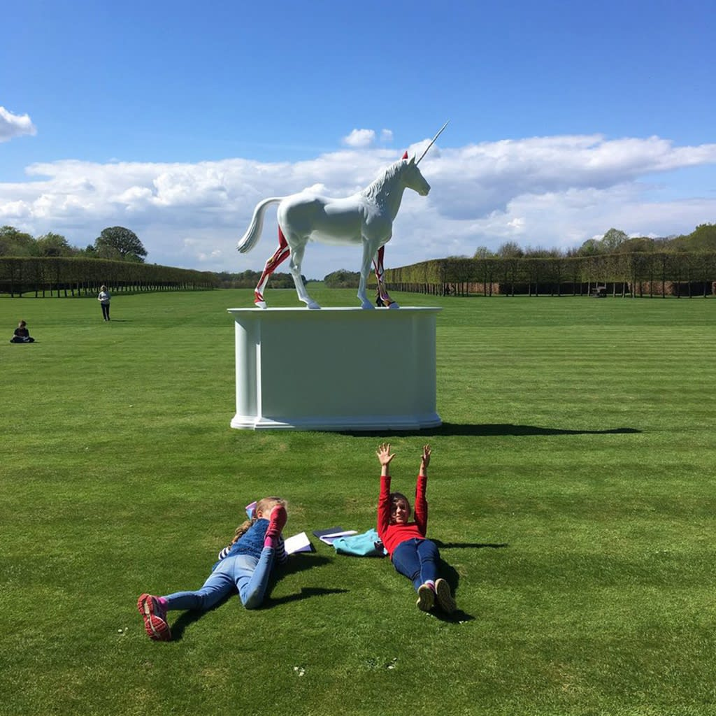 Last chance to see Damien Hirst at Houghton Hall