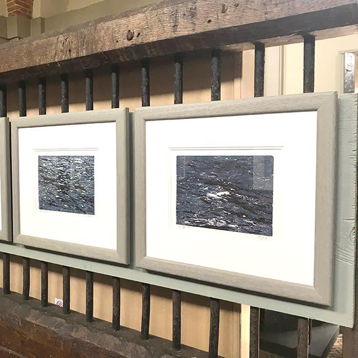 Seas- woodcut prints by Pandora Mond