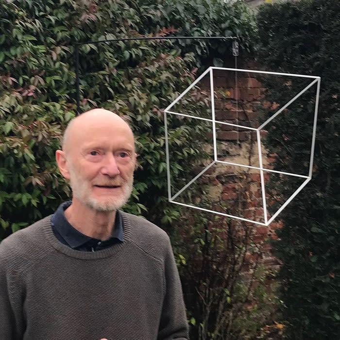 Andrew Jones, kientic sculptor, Houghton Hall 2019