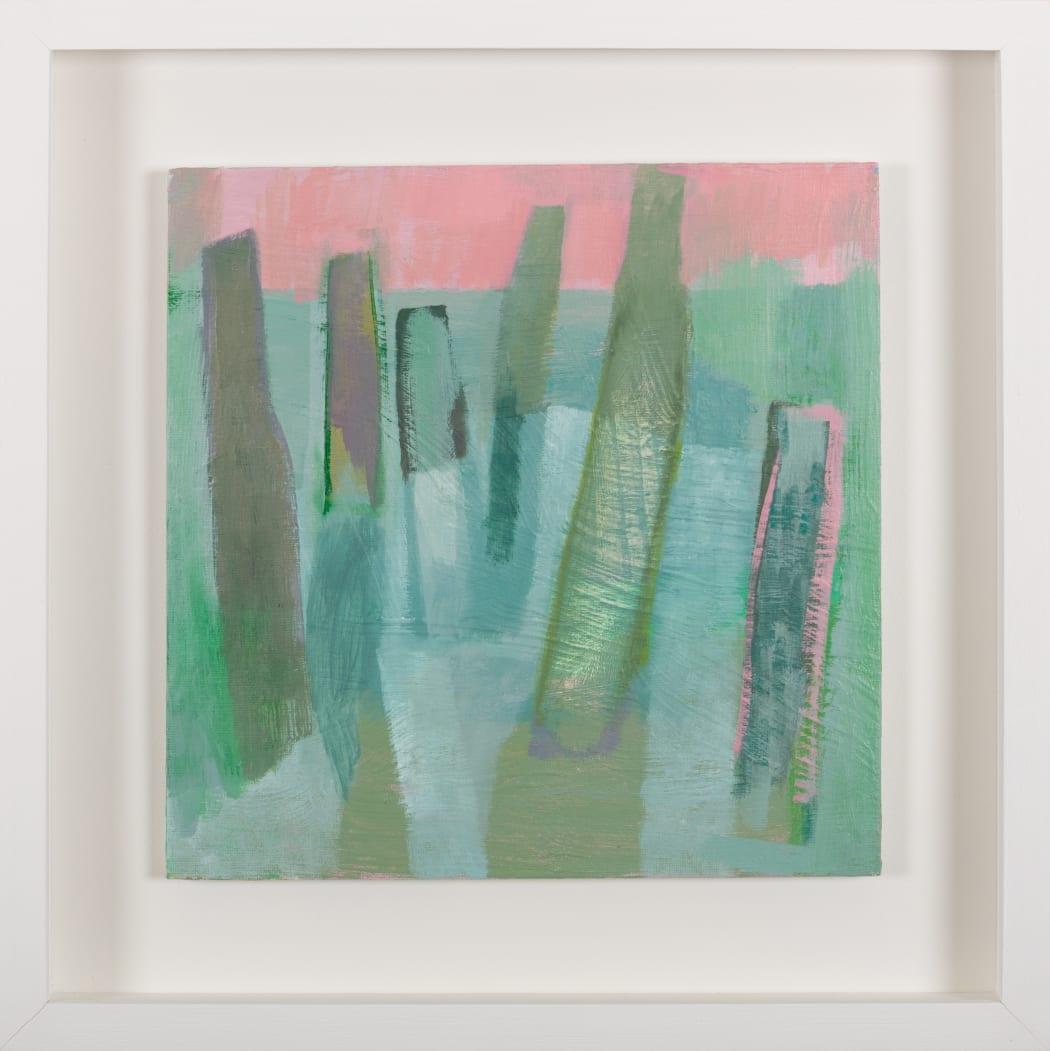 New Seahenge paintings by Linda Jamieson