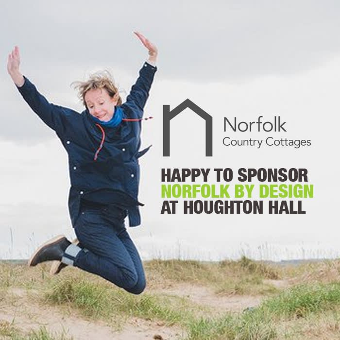 Norfolk Country Cottages sponsor our event at Houghton Hall