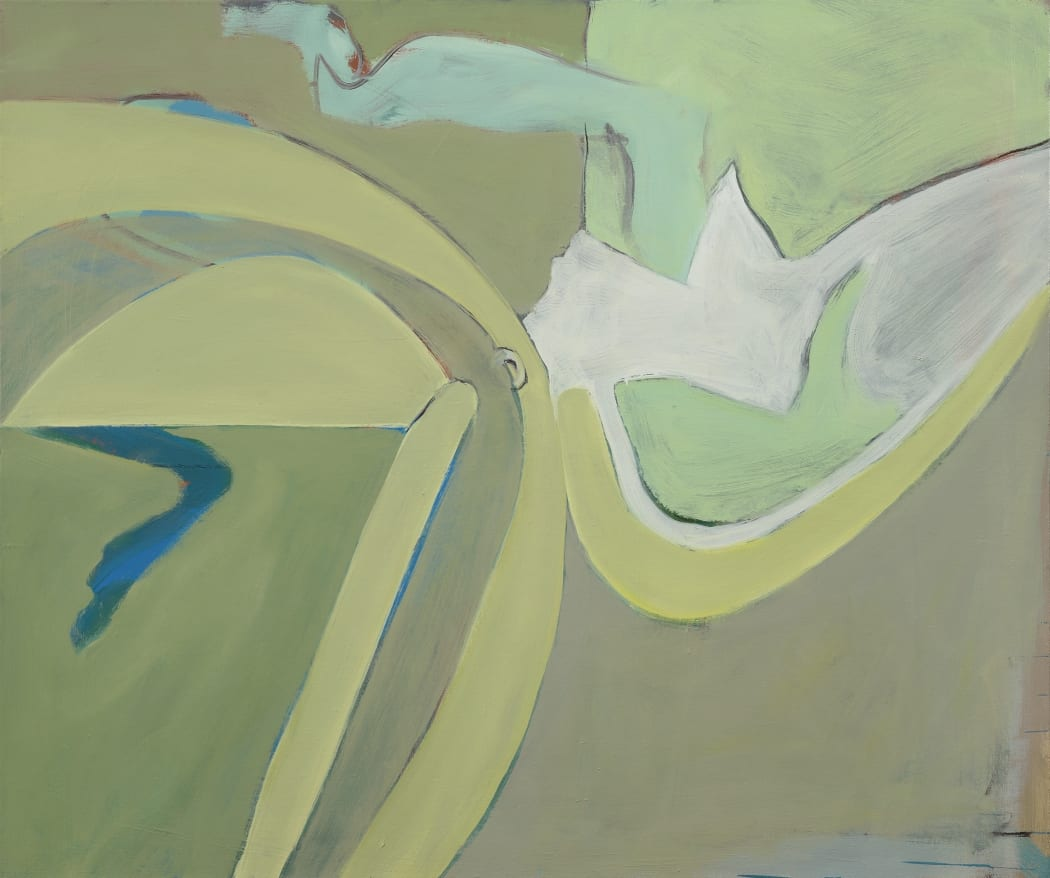 Untitled, 2007, oil on canvas, 102 x 122 cms