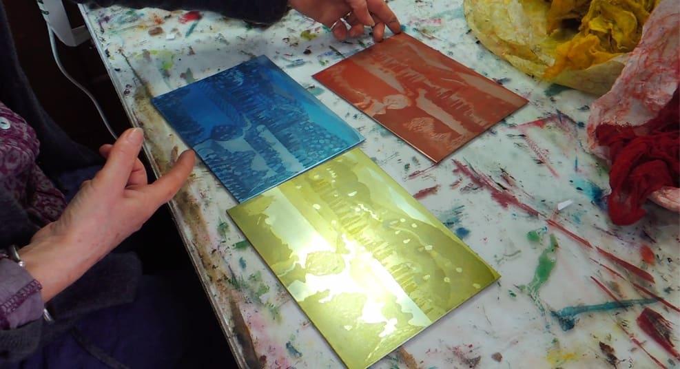 Three-Plate Printing