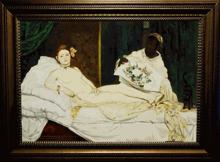 Édouard Manet, Olympia, 1863