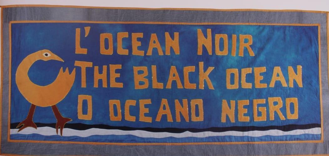 L'OCEAN teinture symbole William Wilson edition Gallimard Jeunesse