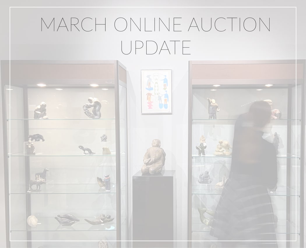 An Update on our March Online Auction