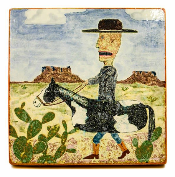 Wesley Anderegg, Riding My Horse, 2018