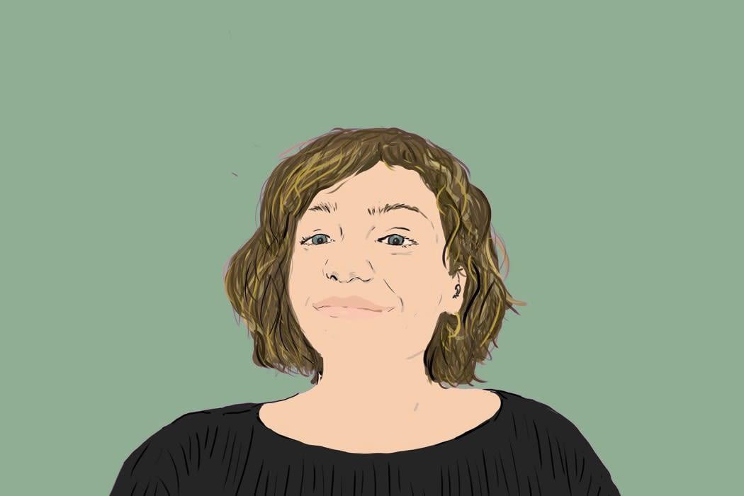 Portrait of Julia Mazal by Mark Wallis