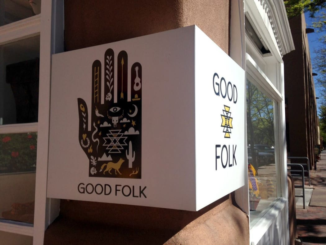 Good Folk art gallery in Santa Fe, New Mexico