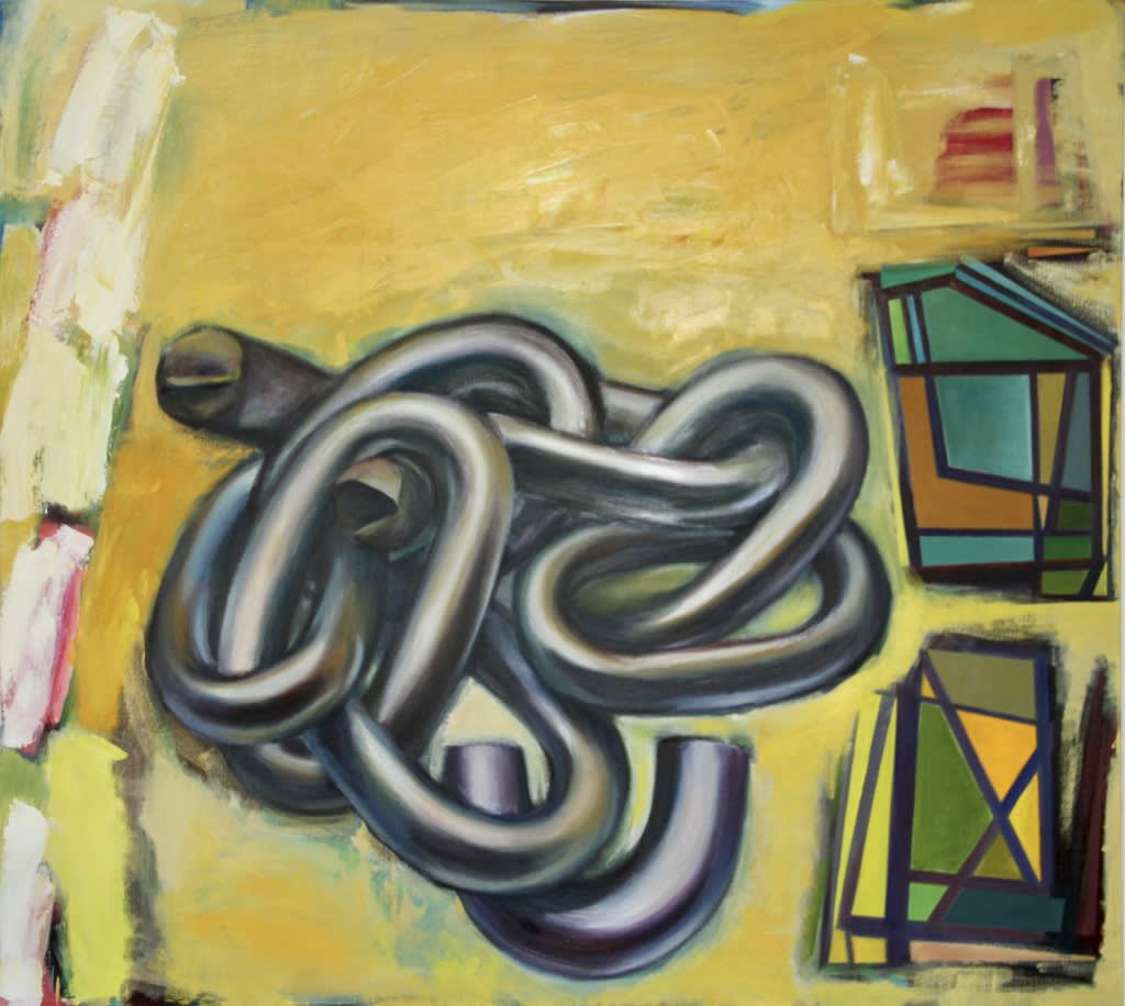 Home and Hearth. 2012. Oil on canvas. 180x200cm