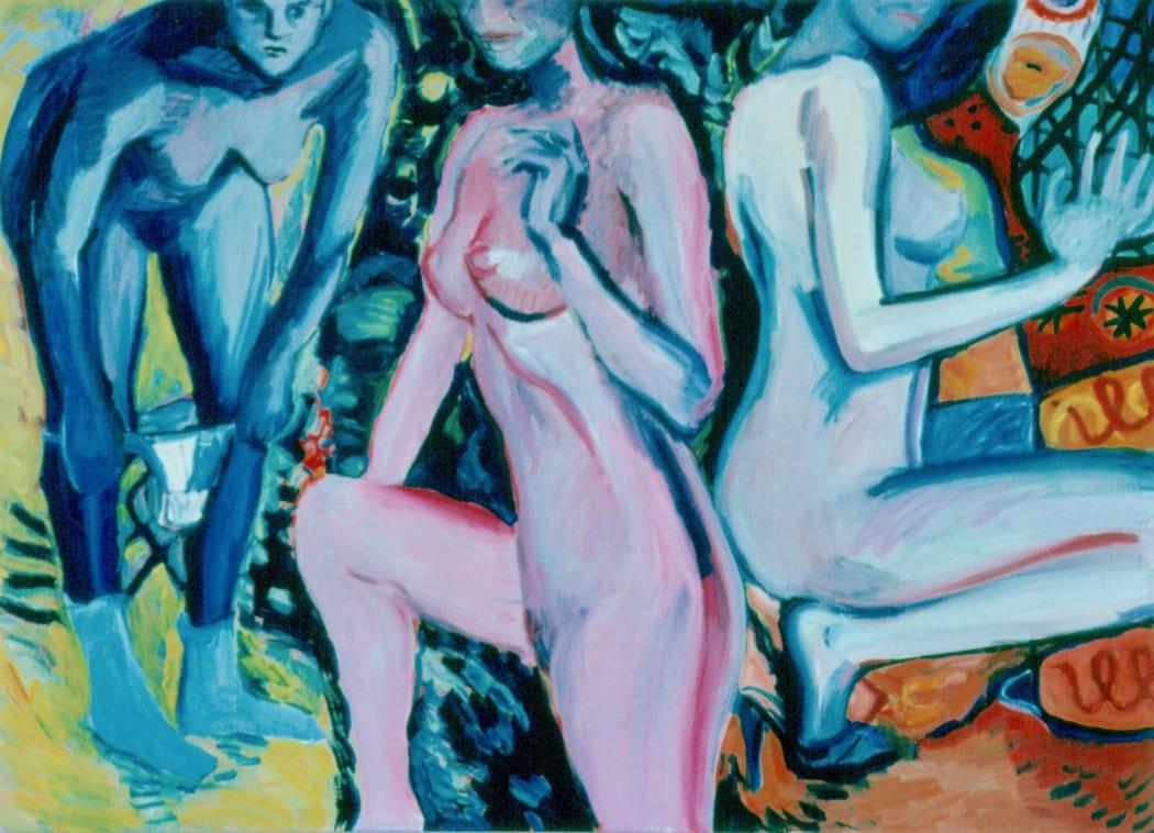 Figures - Adam. 1982. Oil on canvas. 150x170cm